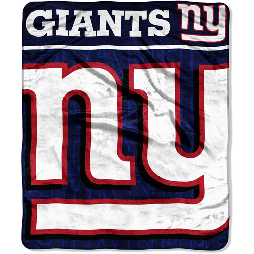 "NFL New York Giants 50"" x 60"" Throw"