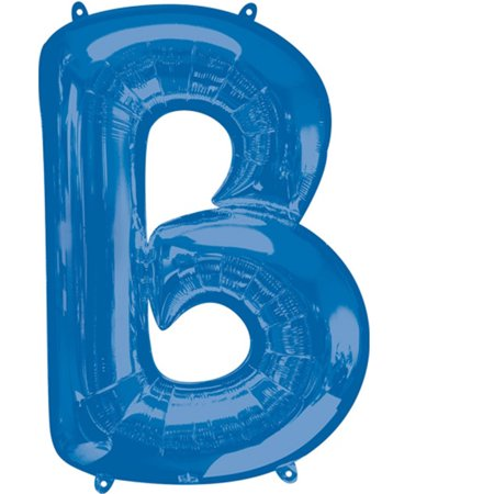 Giant Balloon Letters (Giant Blue Letter B Foil Balloon)
