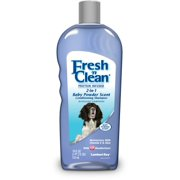 Lambert Kay Fresh `n Clean 2-In-1 Conditioning Dog Shampoo, 18 oz, Baby Powder