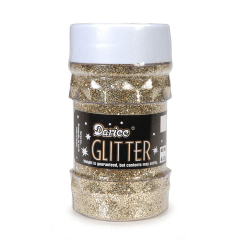 Glitter Jar - Gold - Big Value - 4 ounces