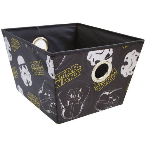 Star Wars Rectangular Storage Bin with Grommet Handles, Multiple Colors