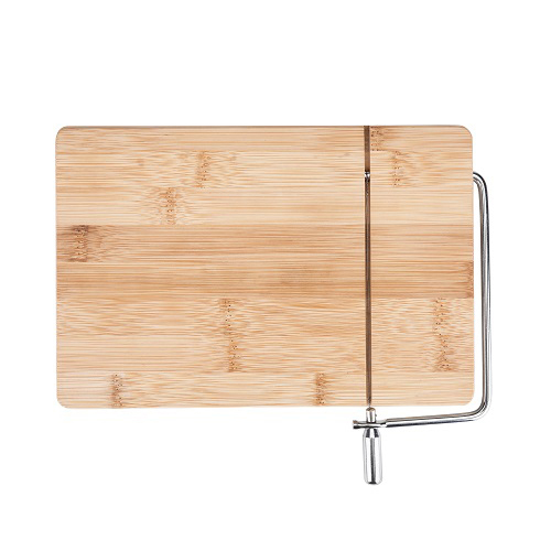 Cheese Board Cutting, Wireslice Bamboo Slicing Rustic Elegant Cheese Boards (Sold by Case, Pack of 6)