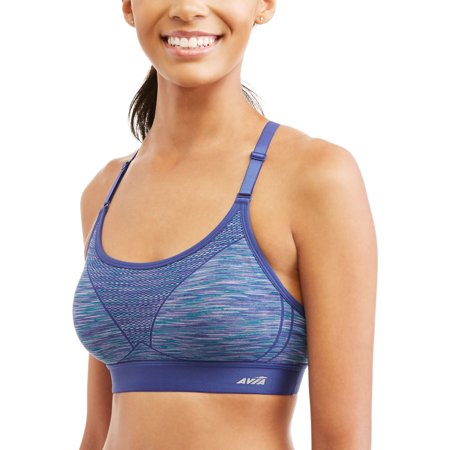 Avia Womens Active Seamless Cami Sports Bra