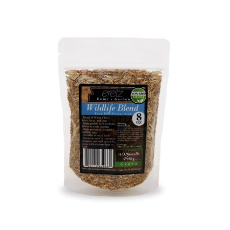(22026) Eretz Oregon Grown Grass Seed - Wildlife Food Plot Forage Blend (8oz) thumbnail