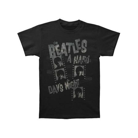 Stripper T Shirts (Beatles Men's  Hard Day's Night Film Strips T-shirt)