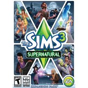Electronic Arts Sims 3: Supernatural (limited), EA, PC Software, 014633197815