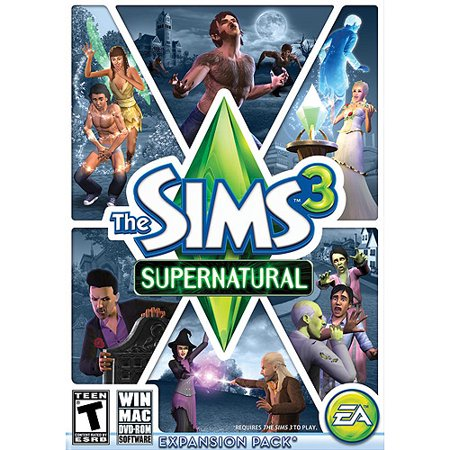 Electronic Arts Sims 3: Supernatural (limited), EA, PC Software, - Sims 3 Halloween Dress Up
