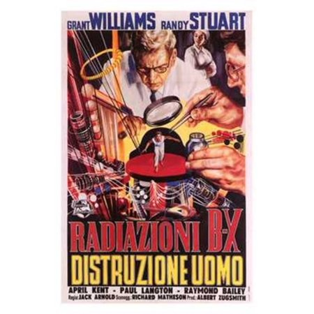 The Incredible Shrinking Man Movie Poster  11 X 17