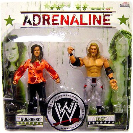 WWE Wrestling Adrenaline Series 33 Vickie Guerrero & Edge Action Figure 2-Pack (Wwe Action Figures Vickie)