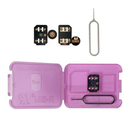 Dazone Unlock Turbo Sim Card GPP for iPhone XS/8/7/6/6S 4G LTE IOS 12 11 SIM Card Kit -