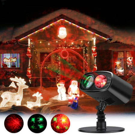 Christmas Projector Lights,VBESTLIFE Led Projector Light Party lights Waterproof Landscape Spotlight for Valentine's Day Birthday Wedding Theme Party Garden Home Christmas Halloween Decorations (Red)