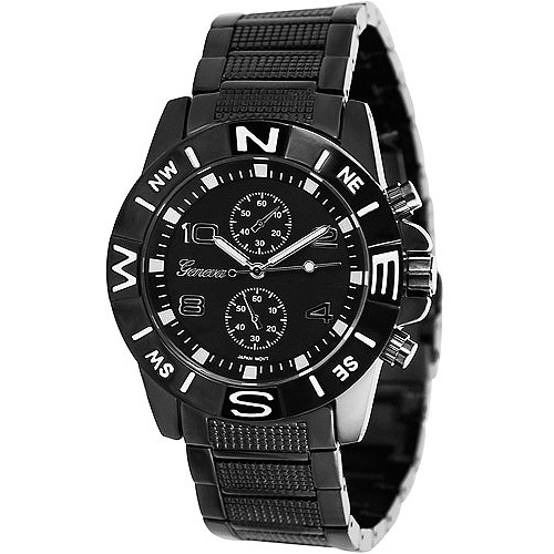 Aktion Men's Chronograph Style Link Watch