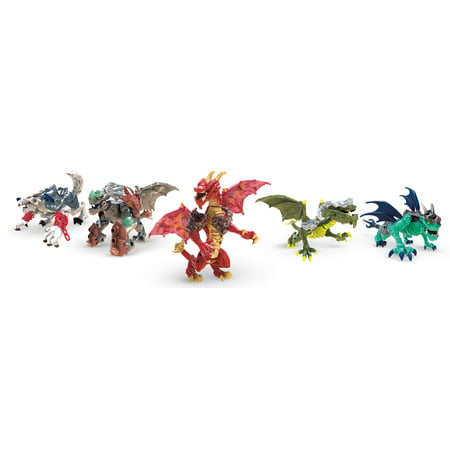 Mega Construx Breakout Beasts Mystery Blind Pack (Styles May Vary)