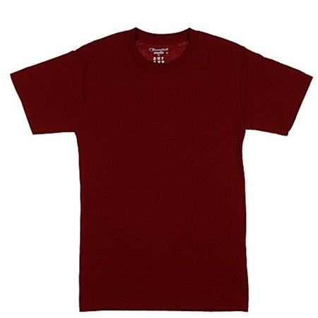 2c3a2922 Champ - Champion Men's Short-Sleeve Jersey T-Shirt (Small, Red) -  Walmart.com
