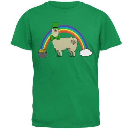 St Patrick's Day Pot Of Gold (St. Patrick's Day Llama Cute Pot Of Gold Mens T)