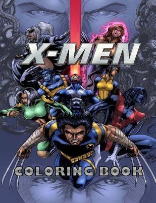 X-Men Coloring Book by