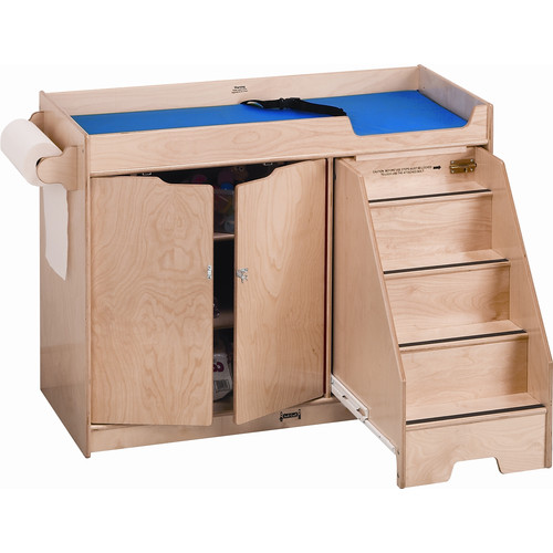 Jonti-Craft Right Changing Table with Stairs by Jonti-Craft