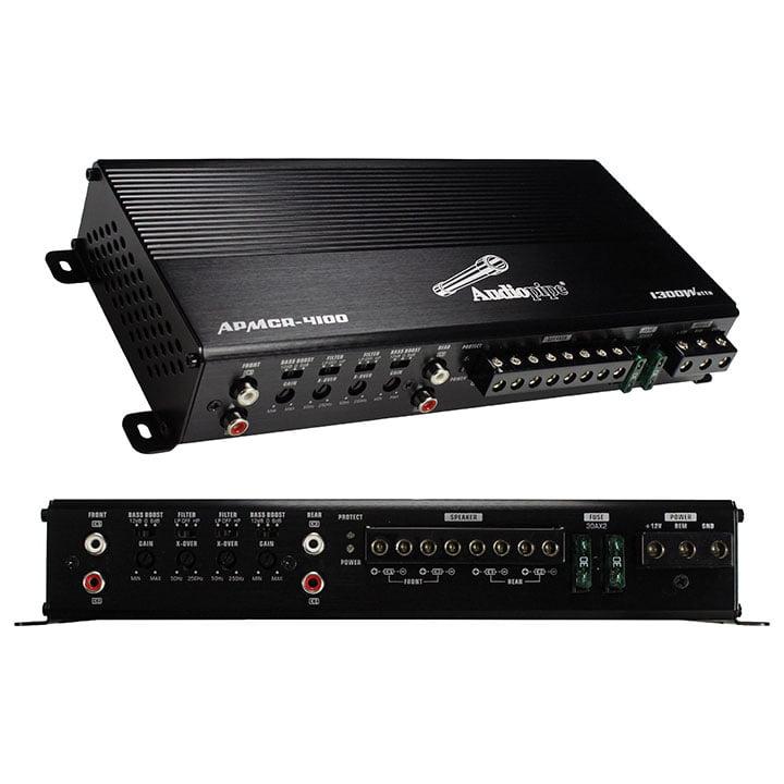 Audiopipe 4 Channel Micro Amplifier 1300 Watts