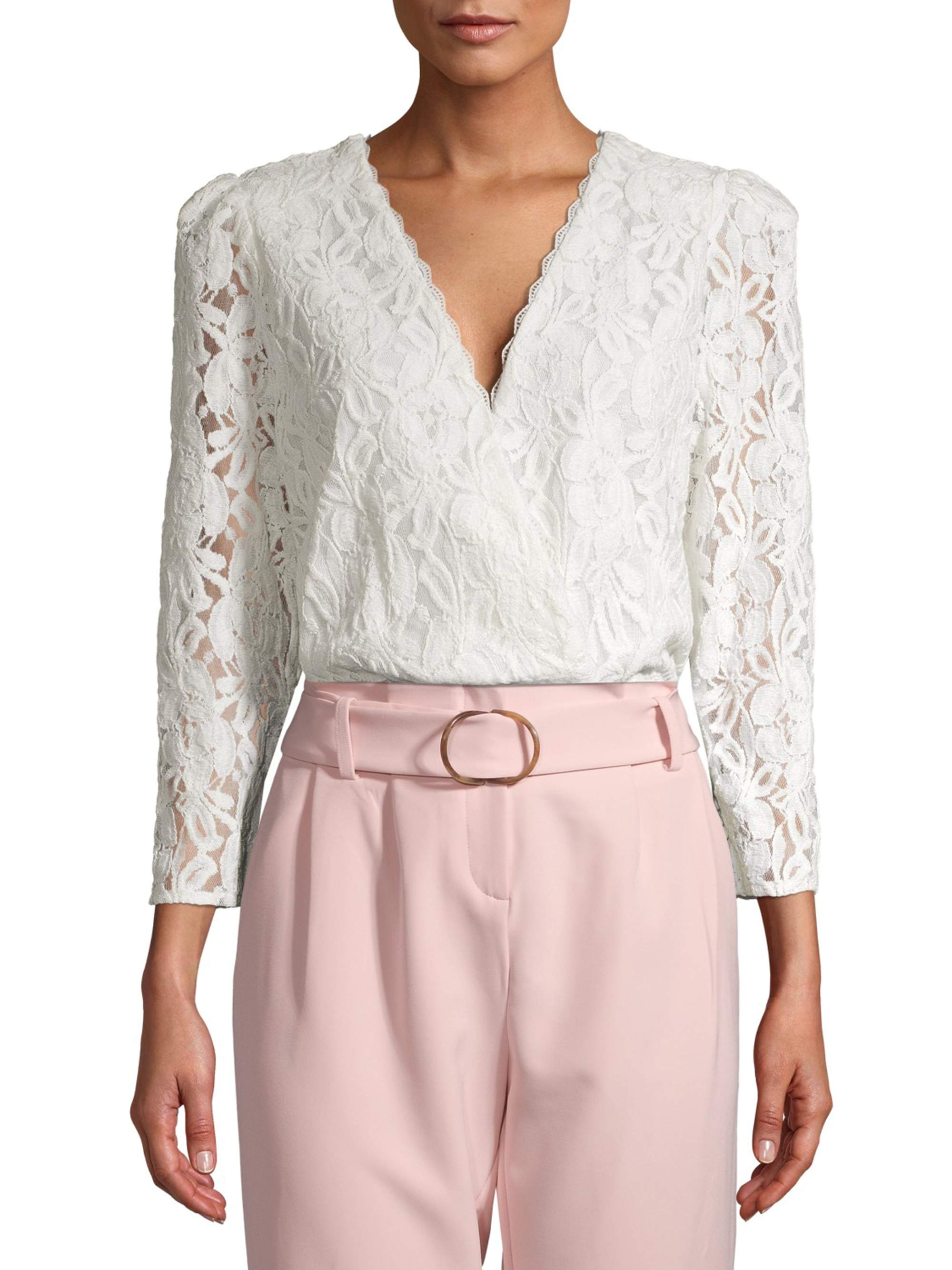 Prospect the label - Prospect the Label Women's Long Sleeve Lace ...