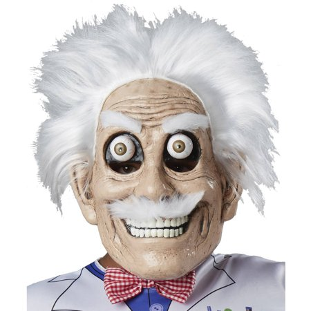 Googly Eyes Halloween Face (Googly Eyed Mad Scientist Mask Adult Halloween)