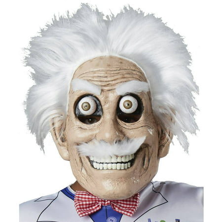 Googly Eyed Mad Scientist Mask Adult Halloween - Mad Scientist Halloween Party Food