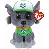 Product Image TY Beanie Boos - Paw Patrol - Rocky The Dog (Glitter Eyes)  Small 6 924a8e1bb84a