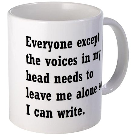 Alone Mug (CafePress - Leave Me Alone To Write Mug - Unique Coffee Mug, Coffee Cup CafePress )