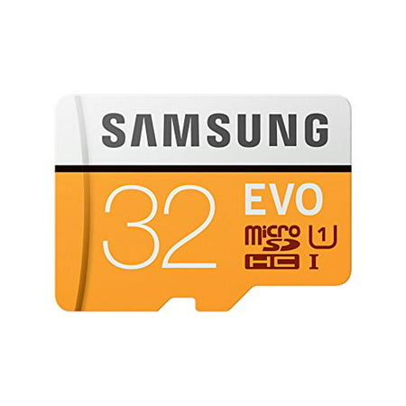 SAMSUNG 32GB EVO Class 10 Micro SDHC Card with Adapter - MB-MP32GA/AM