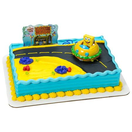 Spongebob Krabby Patty Kit Cake