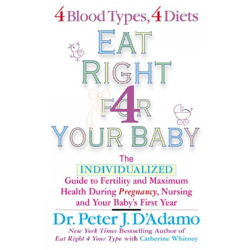 Eat Right for Your Baby: The Individualized Guide To Fertility and Maximum Health During Pregnancy, Nursing, and Your Baby's First Year