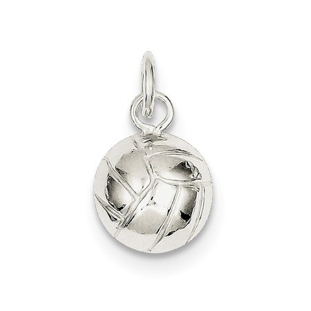 Sterling Silver Volleyball Charm](Volleyball Charm)