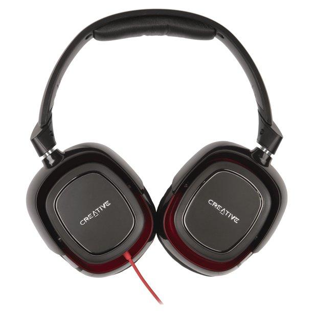 Creative Draco Hs880 Gaming Headset Walmart Com Walmart Com