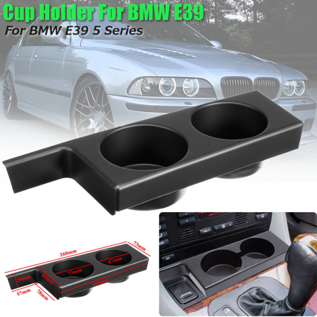 Front Center Cup Holder For BMW 5Series E39 525i 528i 530i 540i M5 1997-2003 US