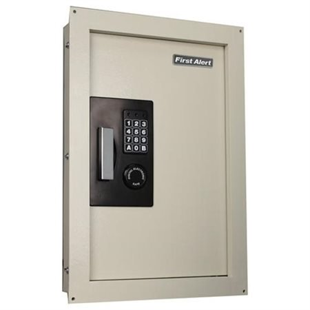First Alert 2070Af 0 33 To 0 85 Cubic Foot Expandable Anti Theft Digital Lock Wall Safe