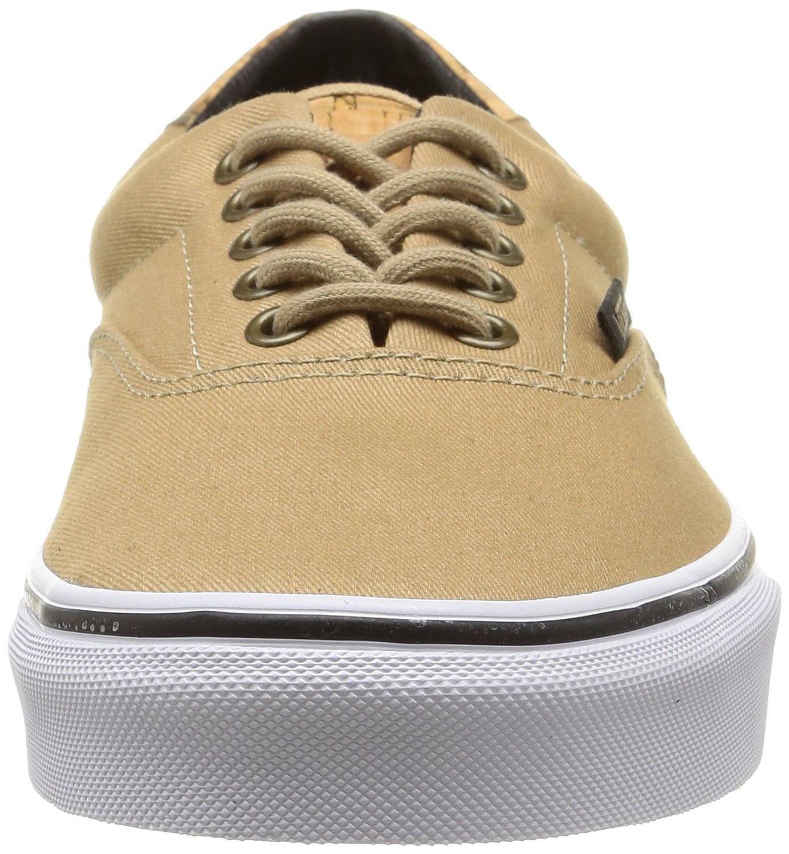 33d2a6926f428a VANS - Vans Unisex Cork Twill Era 59 Skate Shoes-Cork Twill Dark Shadow -  Walmart.com