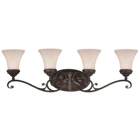- Vaxcel W0304 Avenant Venetian Bronze Bathroom Light