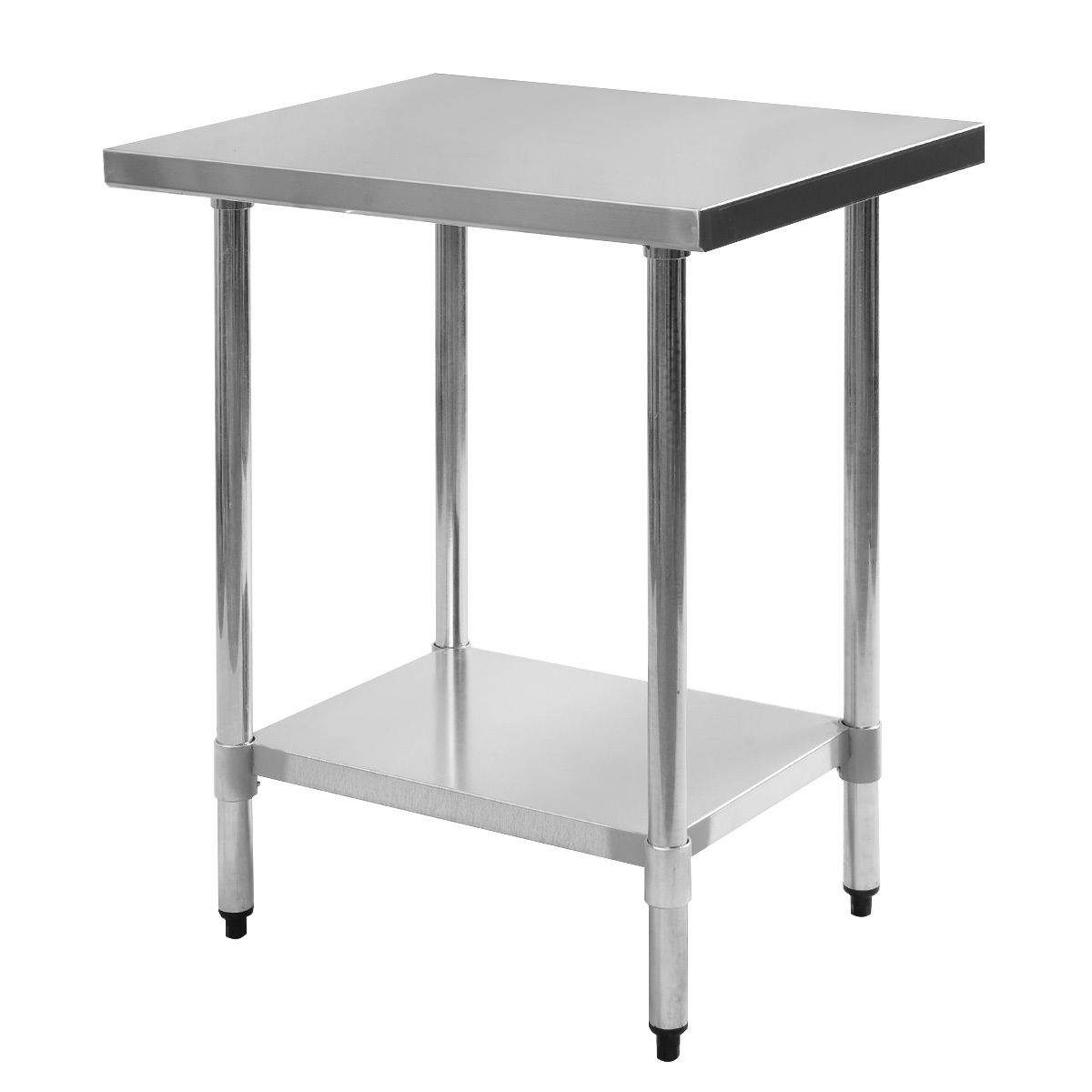 costway 24 x 30 stainless steel work prep table commercial