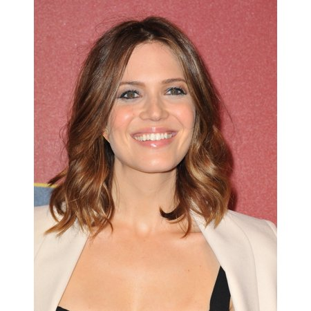 Mandy Moore At Arrivals For Qvc Presents Red Carpet Style Pre Oscars Party Canvas Art     16 X 20