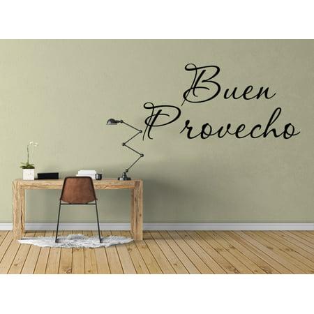Vinilo Decorativo Para Pared Buen Provecho Wall Stickers Decal SQ65