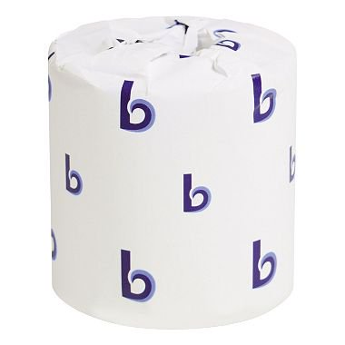 Product of Boardwalk - Bathroom Tissue, 2-Ply, White, 500 Sheets/Roll - 96 Rolls/Carton - Toilet Paper [Bulk Savings] (Paper Products In Bulk)