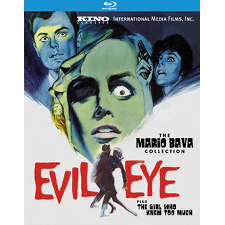The Evil Eye / The Girl Who Knew Too Much (Blu-ray)