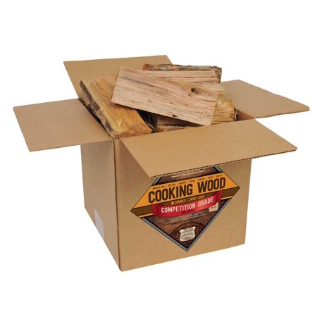 Faux Wood Log - Smoak Firewood's Cooking Wood Mini Logs (8inch pieces 25-30lbs) - White Oak