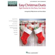 Easy Christmas Duets : Popular Songs Series Late Elementary/Early Intermediate Piano Duets