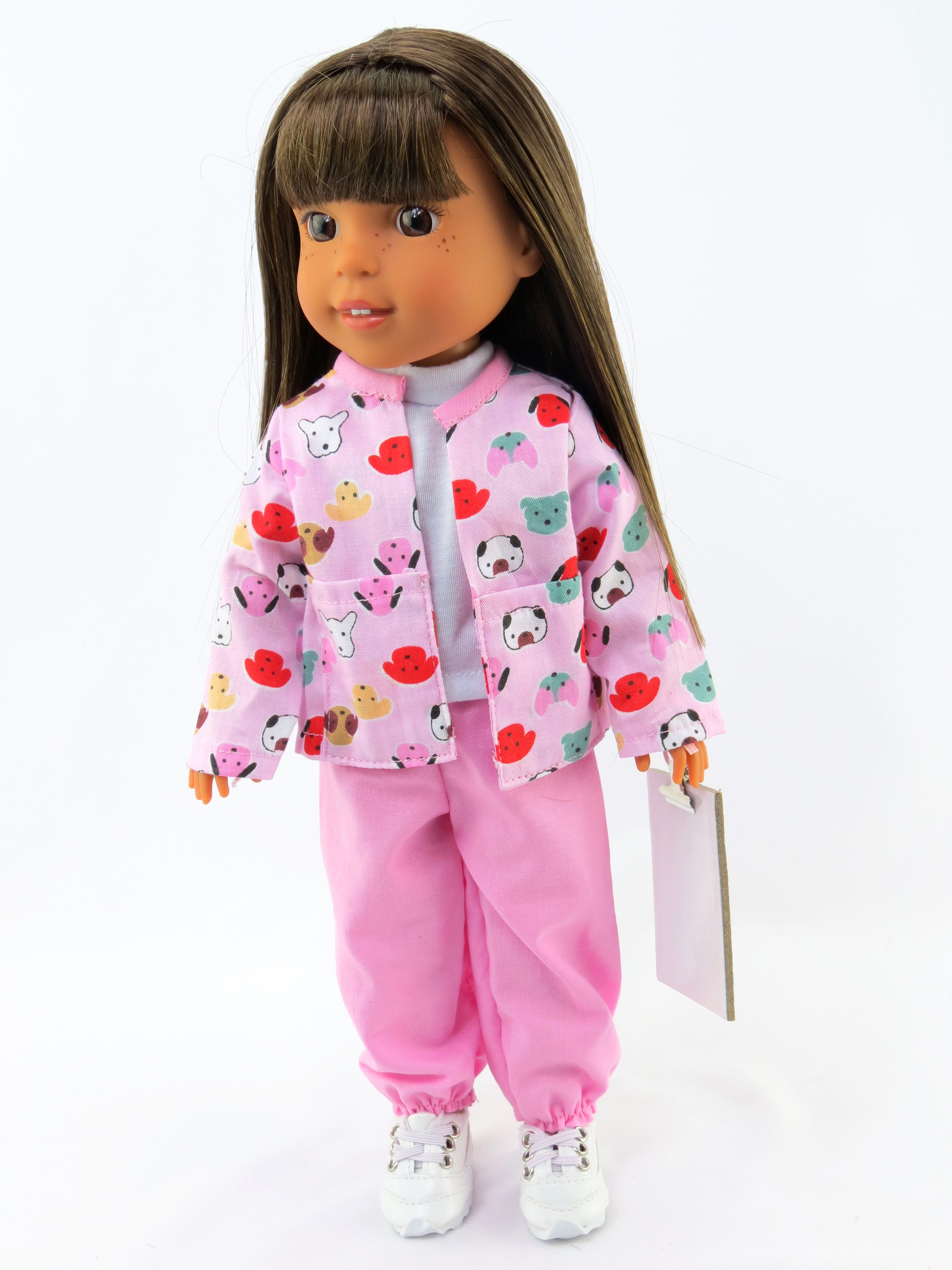 """Pink Vet Outfit 