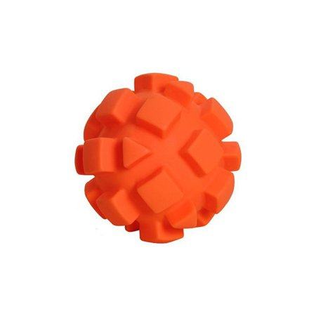 Hueter Toledo Soft Flex Bumby Ball Dog Toy Orange 5.5