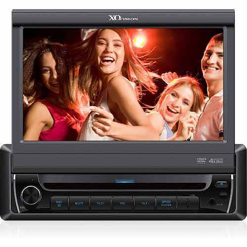 """XO Vision 7"""" Touchscreen DVD Receiver with Navigation"""