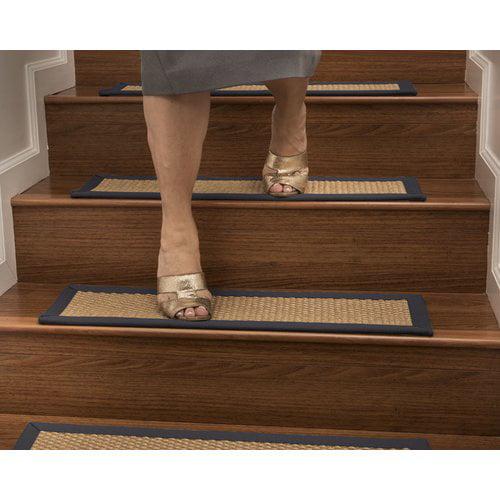 Highland Dunes Shauntel Custom Sisal Stair Tread (Set of 13)
