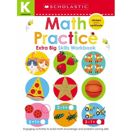 Math Practice (Scholastic Early Learners: Kindergarten Extra Big Skills Workbook) - Math Halloween Activities Kindergarten