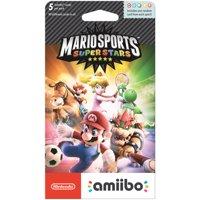 Nintendo 3DS Mario Sports Superstars amiibo Cards, 5 Count