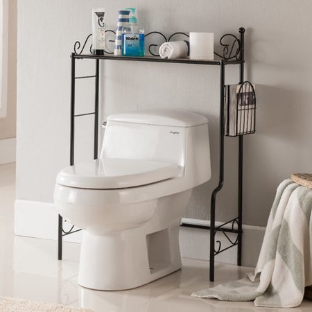 Charlton home greenfield 26 39 39 w x 36 39 39 h over the toilet for Storage charlton